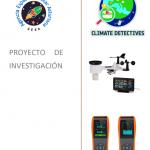 Operativa la estación meteorológica para Detectives Climáticos